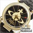 【10%OFF】[あす楽対応][送料無料]ヴィヴィアンウェストウッド腕時計 [ VivienneWestwood時計 ]( Vivienne Westwood 腕時計 ヴィヴィアン ウェストウッド 時計 ) ( TIME MACHINE ) レディース時計/ブラック/VV006BKGD