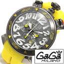 ガガミラノ [ GaGaMILANO ] ガガミラノ 時計 ガガ ミラノ [ GaGa MILANO ] ガガミラノ 腕時計 [ GaGaMILANO腕時計 ] ガガ時計 クロノグラフ PVD CHRONO 48mm ブラック/メンズ/レディース/GG-60546 [人気/プレゼント/ギフト] [ クリスマス ]