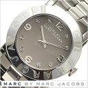 【楽天日本一セール】マークバイマークジェイコブス腕時計[MARCBYMARCJACOBS時計](MARCBYMARCJACOBS腕時計マークバイマークジェイコブス時計)エイミー クリスタル(AmyCrystal)レディース時計/グレー/MBM3196[知的クール憧れ誕生日セレブ芸能人]
