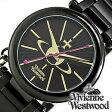 ヴィヴィアンウエストウッド腕時計 [ VivienneWestwood時計 ]( Vivienne Westwood 腕時計 ヴィヴィアン ウエストウッド 時計 ) ケンジントン II ( Kensington II )レディース腕時計/ブラック/VV006KBK [ クリスマス ]