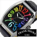 【あす楽対応】フランク三浦腕時計[FrankMIURA時計](FrankMIURA腕時計フランク三浦時計)六号機(改)/メンズ/レディース/男女兼用腕時計/ブラック/FM06K-CRBK6号機