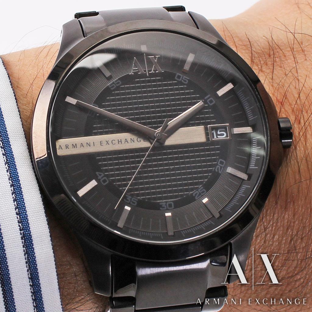 アルマーニエクスチェンジ腕時計 [ ArmaniExchange時計 ]( Armani Exchange 腕時計 アルマーニ エクスチェンジ 時計 ) メンズ レディース ユニセックス 男女兼用腕時計 ブラック AX2104 [ 海外モデル 逆輸入 レア ビジネス おしゃれ ] ArmaniExchange腕時計 [ アルマーニエクスチェンジ時計 ] Armani Exchange 腕時計 アルマーニ エクスチェンジ 時計