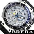 [あす楽対応][送料無料]ブレラオロロージ腕時計 [ BRERAOROLOGI時計 ]( BRERA OROLOGI 腕時計 ブレラ オロロージ 時計 ) グランツーリスモ ( GRAN TURISMO ) メンズ腕時計/ホワイト/BRGTC5401 [おしゃれ ビックフェイス ブレラオロロジ ブレラ オロロジ]