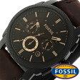 フォッシル 時計 [ FOSSIL 時計 ] フォッシル 腕時計 [ FOSSIL 腕時計] フォッシル時計 [ FOSSIL時計 ] フォッシル腕時計 [ FOSSIL腕時計 ] マシーン MACHINE メンズ/レディース/ダークブラウン FS4656[人気/新作/ビジネス/激安/防水/クロノグラフ/カレンダー][送料無料]