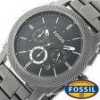 フォッシル 時計 [ FOSSIL 時計 ] フォッシル 腕時計 [ FOSSIL 腕時計] フォッシル時計 [ FOSSIL時計 ] フォッシル腕時計 [ FOSSIL腕時計 ] マシーン MACHINE メンズ/レディース/ブラック FS4662[人気/新作/日付機能/日付表示/メタルベルト 革ベルト 多数取り扱い][送料無料]