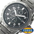 フォッシル 時計 [ FOSSIL 時計 ] フォッシル 腕時計 [ FOSSIL 腕時計] フォッシル時計 [ FOSSIL時計 ] フォッシル腕時計 [ FOSSIL腕時計 ] ディーン DEAN メンズ/レディース/ブラック FS4721[人気/新作/日付機能/日付表示/メタルベルト 革ベルト 多数取り扱い][送料無料]