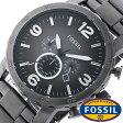 フォッシル 腕時計 メンズ レディース 男女兼用 [ FOSSIL ] フォッシル 時計 [ fossil 腕時計 メンズ レディース ] ネイト NATE グレ− JR1437[人気/日付機能/日付表示/メタルベルト 革ベルト ] [ クリスマス ]