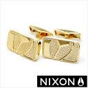 NIXON カフス ニクソン カフリンクス バッジカフリンクス ( Badge Cuff Links ) メンズアクセサリー/TP-NIXON-1501GOLD [レア ギフト プレゼント ブランド 数量限定]