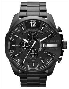 ディーゼル腕時計[DIESEL時計](DIESEL腕時計ディーゼル時計)メガチーフ(MEGACHIEF)メンズレディースユニセックス/男女兼用腕時計/ブラック/DZ4283[おしゃれdieselmegachief黒送料無料]