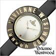 ヴィヴィアン 時計 ヴィヴィアンウエストウッド腕時計 VivienneWestwood時計 Vivienne Westwood 腕時計 ヴィヴィアン ウエストウッド 時計 クラリティ Clarity レディース/シルバー ブラック VV032BK [おしゃれ レザー]