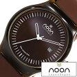ヌーンコペンハーゲン 時計 [ nooncopenhagen 時計 ] ヌーン コペンハーゲン 腕時計 [ noon copenhagen 腕時計 ] ヌーン 腕時計 メンズ/レディース/ブラウン/ホワイト/NOON-82-003S6 [北欧/薄型/軽量/防水/人気] 02P28Sep16