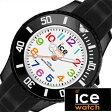アイスウォッチ腕時計 [ Ice Watch時計 ]( Ice Watch 腕時計 アイスウォッチ 時計 ) アイス ミニ ブラック ( ICE mini ) メンズ/レディース/ユニセックス腕時計/ブラック/MNBKMS [サマー スポーツ 軽量 カジュアル][ポイント10倍][5年保証対象]