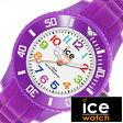 アイスウォッチ腕時計 [ Ice Watch時計 ]( Ice Watch 腕時計 アイスウォッチ 時計 ) アイス ミニ パープル ( ICE mini ) メンズ/レディース/ユニセックス腕時計/パープル/MNPEMS [サマー スポーツ 軽量 カジュアル][ポイント10倍][5年保証対象]