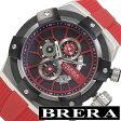 [送料無料]ブレラオロロジ腕時計 [ BRERAOROLOGI時計 ]( BRERA OROLOGI 腕時計 ブレラ オロロジ 腕時計 ) スーパースポルティーボ ( SUPERSPORTIVO ) メンズ腕時計/ブラック/BRSSC4915 [ブレラオロロージ メンズ おしゃれ スーパースポーティボ シルバー]