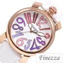 フィネッツァ腕時計 Finezza時計 Finezza 腕時計 フィネッツァ 時計 レディース/ホワイト FZ4011-PGCRWH [可愛い おしゃれ 革ベル...