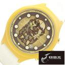 ジーエスエックス 腕時計 GSX 時計 インディ ジョーンズ ( INDIANA JONES ) メンズ レディース ブラウン ゴールド [ チャチャポヤン戦士像 コラボモデル Chachapoya-idol 数量限定モデル 純国産 日本製 ゴールド ]
