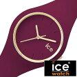 アイスウォッチ 時計[ ICEWATCH 腕時計 ]アイス ウォッチ[ ice watch 腕時計 ] グラム フォレスト Glam Forest メンズ/レディース/レッド/ワイン ICEGLANESS[ICEコレクション/ゴールド/スモール/アネモネ][防水/100m防水] 02P01Oct16