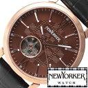 [あす楽] NEWYORKER時計 ニューヨーカー腕時計 自動巻き時計 自動巻き腕時計 自動巻き 機械式腕時計 NEW YORKER 腕時計 ニューヨーカー 時計 トラッドマン 2 Tradman 2