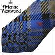 【10%OFF】[あす楽対応][送料無料]ヴィヴィアンウエストウッド ネクタイ [VivienneWestwood]( Vivienne Westwood ネクタイ ヴィヴィアン ウエストウッド ) メンズネクタイ/FN49-5-9 [ブランドネクタイ/おしゃれ/冠婚葬祭/結婚式/ビジネス/プレゼント/オーブ/ブルー/ブラウン]