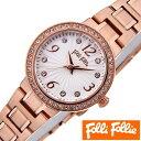 フォリフォリ 時計 レディース 女性 [ folli follie ] 腕時計 アリアウォッチ ARRIA WATCH/シルバーホワイト WF2B015BSS ...