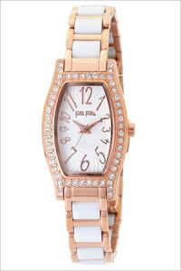 フォリフォリ腕時計[follifollie時計](follifollie腕時計フォリフォリ時計)デビュタントウォッチ(DEBUTANTWATCH)レディース腕時計/ホワイト/WF8B026BPW[アナログ人気セレブピンクゴールドセラミックかわいいキラキラ][送料無料]