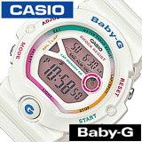 �������ӻ��� CASIO���� CASIO �ӻ��� ������ ���� �٥��ӡ�G BABY-G ��ǥ�����/�ۥ磻�� BG-6903-7CJF [�ǥ�����/�վ�/�ɿ�/���졼/�ޥ�� ���顼/����ǡ������/�٥ӡ�G][5ǯ�ݾ��о�]