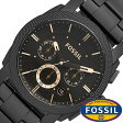 フォッシル腕時計 FOSSIL時計 FOSSIL 腕時計 フォッシル 時計 グラント GRANT メンズ/ブラウン FS4682 [人気/新作/ブランド/防水/ステンレス ベルト/ブラック/ゴールド][送料無料]