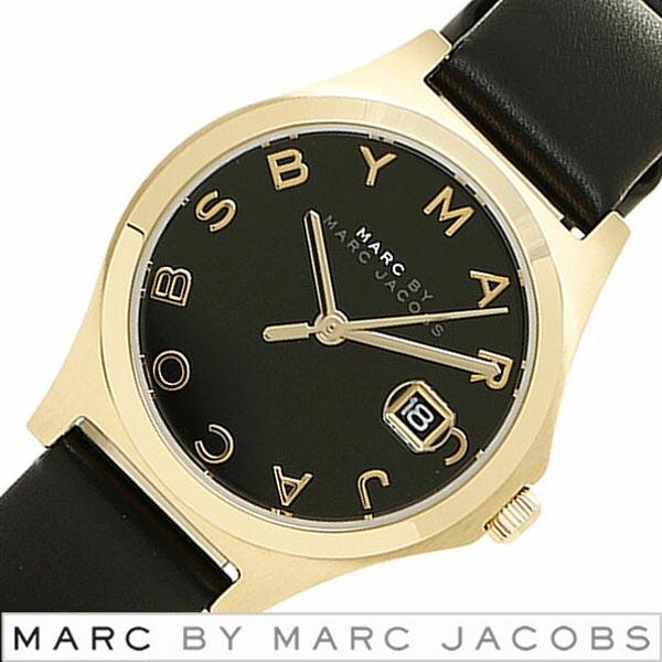 マークバイマークジェイコブス 腕時計 [ Marc By Marc Jacobs 時計 ] マークジェイコブス スリム [ The Slim ] レディース ブラック MBM1374 [ 人気 ブランド 防水 革 ベルト レザー ブラック ゴールド プレゼント ] [ 20代 30代 40代 50代 60代 ][ 父の日 ][ 誕生日 ][ ハイブリッドスタイルは各種プレゼント・ギフトに対応いたします! ]黒い