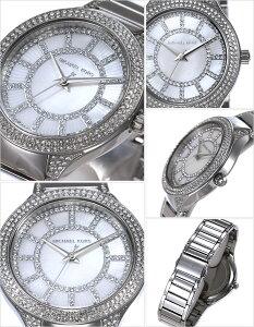 [送料無料]マイケルコース腕時計[MICHAELKORS時計](MICHAELKORS腕時計マイケルコース時計)ケリー(Kerry)レディース/腕時計/ホワイト(MOP)/MK3311[人気/新作/ブランド/防水/ステンレスベルト/シルバー]