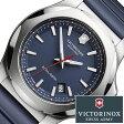 ビクトリノックス スイスアーミー 腕時計 ( VICTORINOX SWISSARMY 時計 ビクトリノックス スイスアーミー 時計 ) イノックス/メンズ/腕時計/ブルー/VIC-241688-1 [ラバー ベルト/正規品/男性用/メンズウォッチ/ミリタリーウォッチ/新品/シルバー/ネイビー]