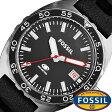 フォッシル 腕時計[ FOSSIL 時計 ]フォッシル 時計[ FOSSIL 腕時計 ]フォッシル時計/フォッシル腕時計[ FOSSIL時計/FOSSIL腕時計 ]ウェイクフィールド WAKE FIELD メンズ/ブラック FS5053 [新作/人気/ブランド/防水/シリコン/シルバー/プレゼント/ギフト][送料無料]
