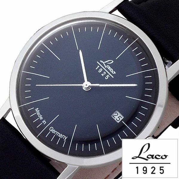 ラコ 腕時計 メンズ レディース 男女兼用 [ Laco ] 時計 ヴィンテージ VINTAGE ブラック LACO-861838 [ 革 ベルト 機械式 メカニカル 自動巻 自動巻き 正規品 防水 シルバー ビンテージ ] [ 20代 30代 40代 50代 60代 ][ 父の日 ][ 誕生日 ][ ハイブリッドスタイルは各種プレゼント・ギフトに対応いたします! ]低い