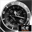 アイスウォッチ 腕時計[ ICEWATCH 時計 ]アイス ウォッチ 時計[ ICE WATCH 腕時計 ]スポーティー ビッグビッグ sporty BigBig メンズ/ブラック[人気/ブランド/シリコン ベルト/正規品/防水/アイススポーティ/ホワイト/SR.3H.BKW.BB.S.15]