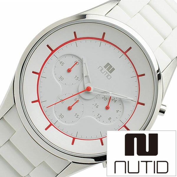 ヌーティッド 腕時計 [ NUTID 時計 ] ヌーティッド 時計 [ NUTID 腕時計 ] クレーター CRATER メンズ ホワイト N-1404P-C [ 正規品 デザイナーズウォッチ ファッション デザイン 人気 流行 ブランド 防水 シリコン ラバー ステンレス レッド プレゼント ギフト ] ヌーティッド 腕時計 ( NUTID 時計 )ヌーティッド 時計 ( NUTID 腕時計 )