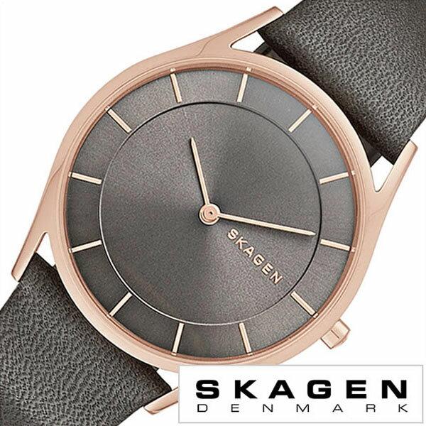 スカーゲン 腕時計 [ SKAGEN 時計 ] スカーゲン 時計 [ SKAGEN 腕時計 ] スカーゲン腕時計 [ SKAGEN時計 ] ホルスト Holst メンズ レディース グレー SKW2346 [ 人気 流行 ブランド 防水 革 ベルト レザー シンプル ピンク ゴールド プレゼント ギフト ] スカーゲン 腕時計 ( SKAGEN 時計 )スカーゲン 時計 ( SKAGEN 腕時計 )スカーゲン腕時計 ( SKAGEN時計 )
