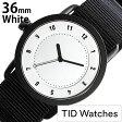 ティッドウォッチ 腕時計 [ TID Watches ] ティッド [ TID ] TIDNo. 1 レディース/ホワイト TID01-WH36-NBK [NATO ベルト/おしゃれ/インスタ/モデル/通販/北欧/ペア/ブラック/ナトー][送料無料][5年保証対象]