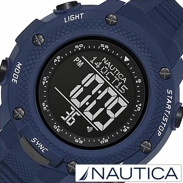 【5年延長保証】 ノーティカ腕時計 [ NAUTICA時計 ]( NAUTICA 腕時計 ノーティカ 時計 ) メンズ 腕時計 ブラック NAI19524G [ 正規品 腕時計 ウォッチ 人気 ブランド トレンド シリコン ベルト ブルー ] NAUTICA腕時計 [ ノーティカ時計 ] NAUTICA 腕時計 ノーティカ 時計