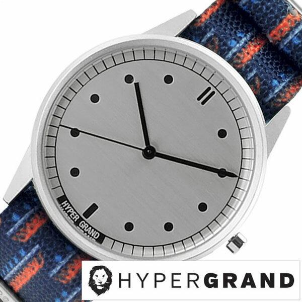 【5年延長保証】 ハイパーグランド [ HYPER GRAND時計 ]( HYPER GRAND 腕時計 ハイパーグランド 時計 ) ゼロワン ナトー ( 01NATO ) メンズ レディース 腕時計 シルバー NW01CARI [ 正規品 人気 ブランド トレンド ナイロン ベルト ブルー プレゼント ギフト ] HYPER GRAND腕時計 [ ハイパーグランド時計 ] HYPER GRAND 腕時計 ハイパーグランド 時計 ゼロワンナトー ( 01NATO )