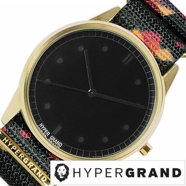 【5年延長保証】 ハイパーグランド [ HYPER GRAND時計 ]( HYPER GRAND 腕時計 ハイパーグランド 時計 ) ゼロワン ナトー ( 01NATO ) メンズ レディース 腕時計 ブラック NW01ROCK [ 正規品 人気 ブランド トレンド ナイロン ベルト ゴールド プレゼント ギフト ] [ 20代 30代 40代 50代 60代 ][ 父の日 ][ 誕生日 ][ ハイブリッドスタイルは各種プレゼント・ギフトに対応いたします! ]