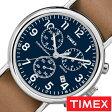 [送料無料]タイメックス腕時計 [ TIMEX時計 ]( TIMEX 腕時計 タイメックス 時計 ) ウィークエンダー クロノ ( Weekender Chrono 40mm ) メンズ/腕時計/ブルー/S-TW2P62300 [正規品/革 ベルト/新品/ファッションウォッチ/ブラウン/ネイビー/シルバー]