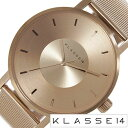 ◆ KLASSE14 クラス14 クラッセ 42mm 腕時計 ◆ メンズ ピンクゴールド ステンレス メッシュベルト [ VOLARE MARIO NOBILE...