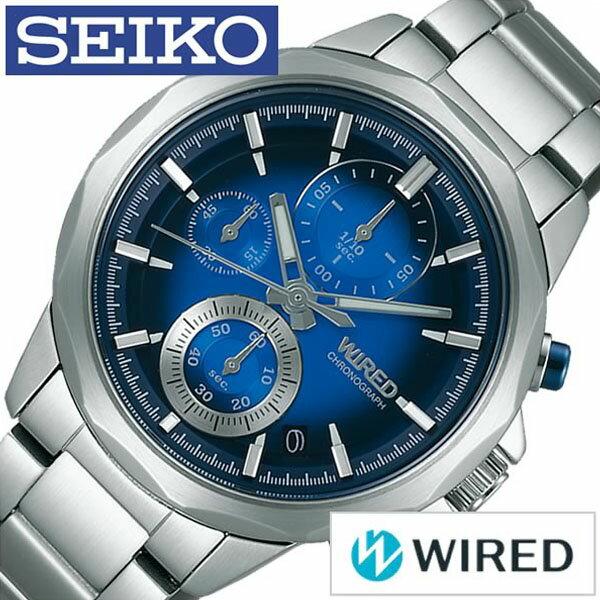 【正規品】【5年延長保証】 ワイアード 腕時計 [ WIRED時計 D時計 ]( WIRED 腕時計 ワイアード 時計 ) ザ・ブルー ( THE BLUE ) メンズ 腕時計 ブルー AGAT410 [ ブランド SEIKO メタル ベルト 防水 シルバー ] WIRED腕時計 [ ワイアード時計 ] WIRED 腕時計 ワイアード 時計 ザ・ブルー ( THE BLUE ) [ 新社会人 卒業祝い 就職祝い 時計 ]