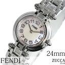 フェンディ 腕時計 [ FENDI時計 ]( FENDI 腕時計 フェンディ 時計 ) ズッカ ( Zucca ) レディース腕時計/ピンク/F78270 [メタル ベルト/シルバー/ピンクシェル/スイス/New/ニュー/クオーツ]