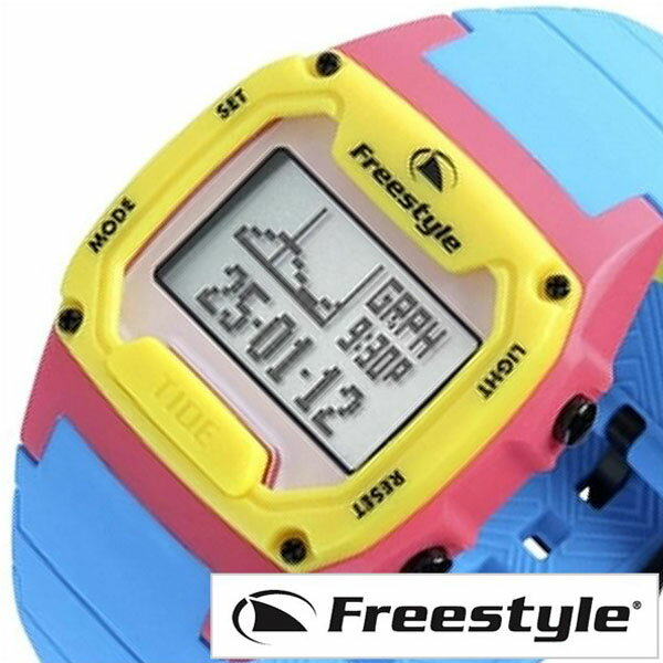 フリースタイル 腕時計 メンズ レディース 男女兼用 [ Free Style ] 時計 シャーククラシック タイド シリコン グレー FS101841 [ 正規品 防水 シリコン サーフィン サーファー マリン スポーツ ブルー イエロー ] FreeStyle腕時計 [ フリースタイル時計 ] FreeStyle 腕時計 フリースタイル 時計 シャーククラシック タイド シリコン ( SHARK CLASSIC TIDE SILICONE )