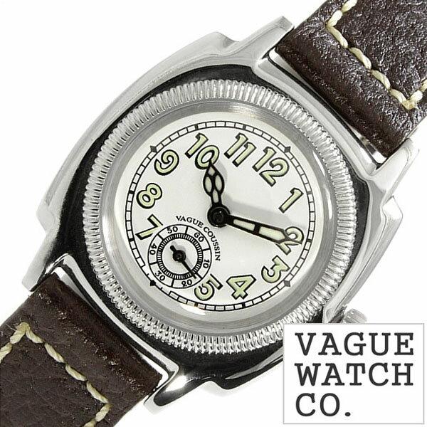 ヴァーグウォッチ 腕時計 [ VAGUE WATCH Co.時計 ]( VAGUE WATCH Co. 腕時計 ヴァーグ ウォッチ コー 時計 ) クッサン ( COUSSIN ) レディース 腕時計 ホワイト CO-S-003 [ 正規品 人気 流行 ブランド 防水 レザー 革 ブラウン シルバー ] [ 20代 30代 40代 50代 60代 ][ 父の日 ][ 誕生日 ][ ハイブリッドスタイルは各種プレゼント・ギフトに対応いたします! ]