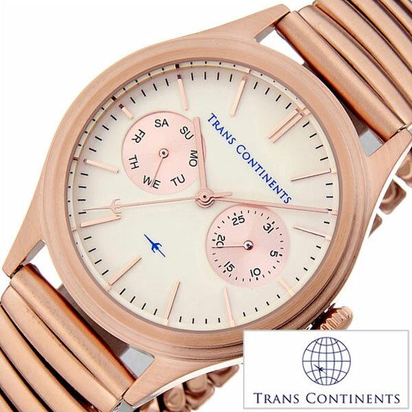 【5年延長保証】 トランスコンチネンツ 腕時計 [ TRANS CONTINENTS時計 ]( TRANS CONTINENTS 腕時計 トランスコンチネンツ 時計 ) バウンダリ ( BOUNDARY ) ホワイト TC-BO-002 [ メタル ベルト 正規品 クオーツ ビジネス ローズゴールド ピンク ゴールド アイボリー ] TRANS CONTINENTS腕時計 [ トランスコンチネンツ時計 ] TRANS CONTINENTS 腕時計 トランスコンチネンツ 時計 バウンダリ ( BOUNDARY