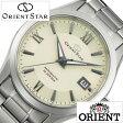 オリエント 腕時計 ( ORIENT 腕時計 オリエント 時計 ) オリエントスター スタンダード ( Orient Star Standard ) メンズ/腕時計/オフホワイト/WZ0041AC [メタル ベルト/機械式/自動巻/メカニカル/正規品/オリエント スター/シルバー]