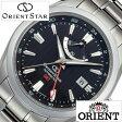 【5年延長保証】オリエント 腕時計 [ ORIENT時計 ]( ORIENT 腕時計 オリエント 時計 ) オリエントスター ジーエムティー ( Orient Star GMT ) メンズ/腕時計/ブラック/WZ0061DJ [メタル ベルト/機械式/自動巻/メカニカル/正規品/オリエント スター/シルバー] [ クリスマス ]