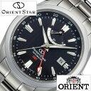 【5年延長保証】 オリエント 腕時計 [ ORIENT時計 ]( ORIENT 腕時計 オリエント 時計 ) オリエントスター ジーエムティー ( Orient Star GMT ) メンズ 腕時計 ブラック WZ0061DJ [ メタル ベルト 機械式 自動巻 メカニカル 正規品 オリエント スター シルバー ]