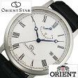 【5年延長保証】オリエント 腕時計 ( ORIENT 腕時計 オリエント 時計 ) オリエントスター エレガントクラシック ( Orient Star Elegant Classic ) メンズ/オフホワイト/WZ0341EL [革 ベルト/機械式/自動巻/メカニカル/正規品/オリエント スター/ブラック/シルバー]